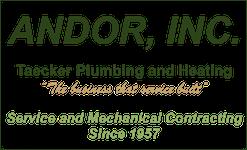 Andor, Inc. – Taecker Plumbing and Heating